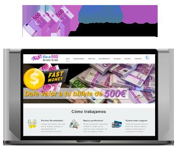 Web Euro de 500