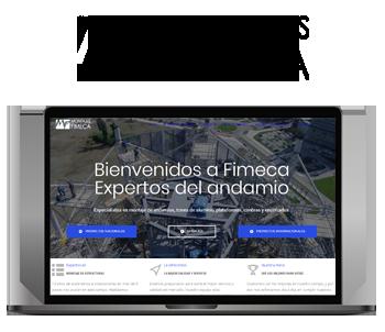 Web Montajes Fimeca