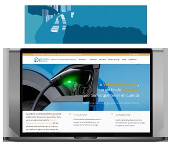 Web Recarga de Vehículos Eléctricos